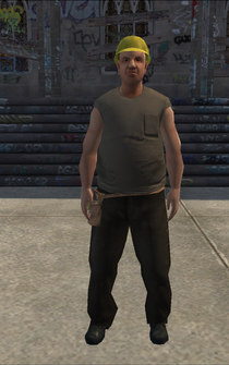 Construction - white - character model in Saints Row