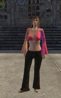 Hippie female - RedLightClothingStore - character model in Saints Row