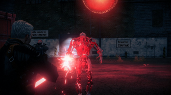 Murderbot in Power Up CID in Saints Row IV