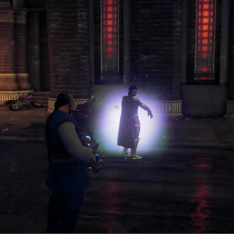 Nytefall Super Matt upgrading in Saints Row IV livestream