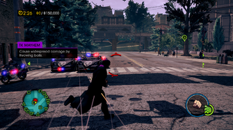 TK Mayhem Instruction Message - Saints Row IV
