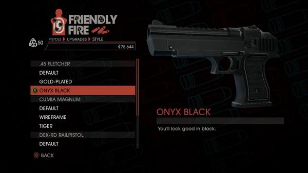 Weapon - Pistols - Heavy Pistol - .45 Fletcher - Onyx Black