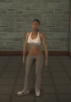 Athlete female - black generic - character model in Saints Row 2