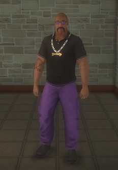 Gang Customization - Gangster - male lieutenant - black