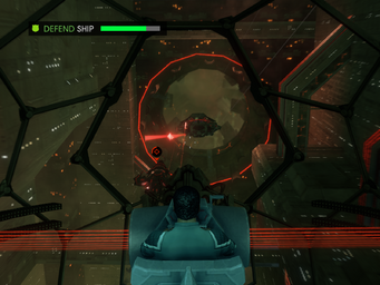 Matt's Back - Defend Ship objective