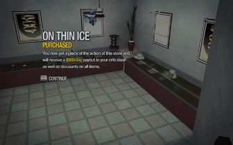 On Thin Ice in Huntersfield purchased in Saints Row 2