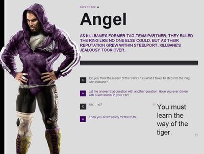 Saints Row website - Gangs - The Saints - Angel