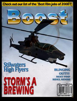 Tornado unlock magazine