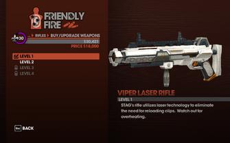 Viper Laser Rifle - Level 1 description