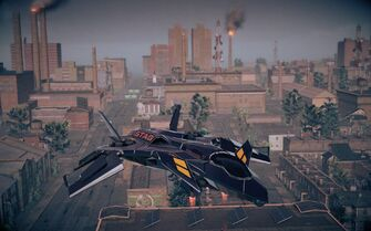 Cyrus' VTOL in Saints Row IV