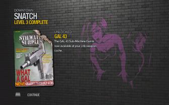 GAL 43 unlocked in Saints Row 2