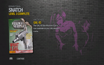 GAL 43 unlocked in Saints Row 2