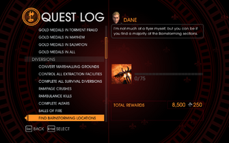 Gat out of Hell Challenge - Find Barnstorming Locations