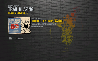 Reduced Explosion Damage 1 unlocked SR2