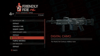 Weapon - Rifles - Automatic Rifle - Mercenary LMG - Digital Camo