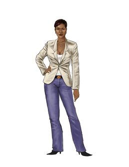 Aisha Saints Row 2 Concept Art 01 - Early design