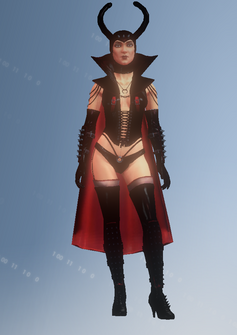 Dominatrix - character model in Saints Row IV