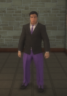 Gang Customization - Bodyguards - male lieutenant 1 - hispanic