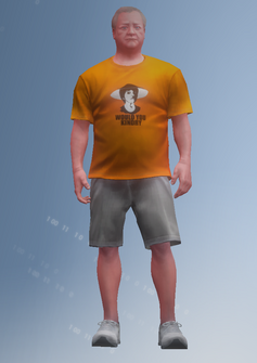 Papa Burch - character model in Saints Row IV