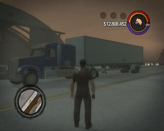 Peterliner - front left with box trailer in Saints Row 2