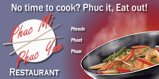 Phuc Mi Phuc Yue - Saints Row 2 billboard