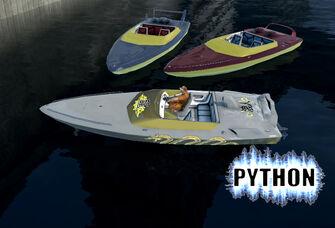 Python - Ronin Python and 2 other Pythons