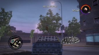Rampage - rear in Saints Row 2