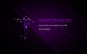 Saints Row IV DLC Unlock - Executive Privilege Pack