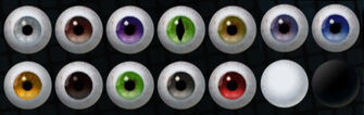 Saints Row The Third Eye Colours