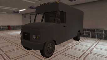 Saints Row variants - Delivery Truck - Unmarked - front left