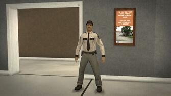 Stilwater Savings & Loan - security guard