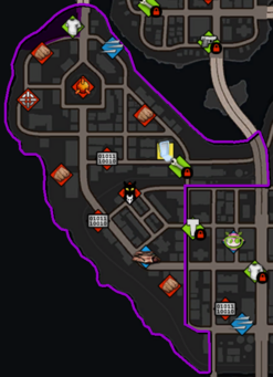 Yearwood map in Saints Row IV