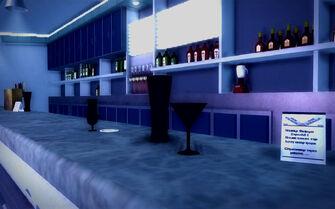 Club Koi - bar glasses