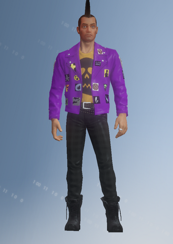 Gang Customization - Punk 1 - Vincent - in Saints Row IV