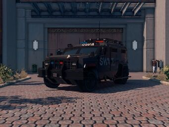 Lockdown - Average variant - front left in Saints Row The Third