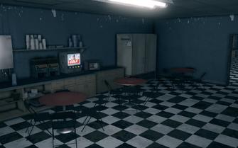 Powder dining room