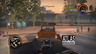 Atlasbreaker - rear in Saints Row 2