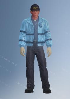 EMT01 - John emt - character model in Saints Row IV
