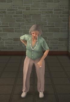 Elderly female - elderly female white1 - character model in Saints Row 2