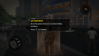 GPS Waypoint Pause menu tutorial in Saints Row 2