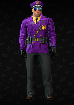 Gang Customization - Cop 1 - Mayweather - in Saints Row The Third