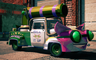 Genki Manapult - right in Saints Row IV