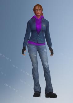 Kinzie - Kinzie2 - unused - character model in Saints Row IV