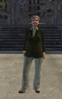 Mayhem - Mary - character model in Saints Row