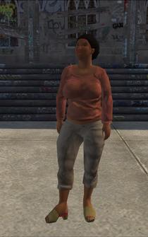 PoorHeavy female - black - character model in Saints Row