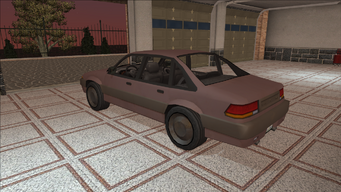 Saints Row variants - Capshaw - Beater - rear left