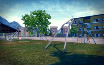 Sommerset in Saints Row 2 - playground
