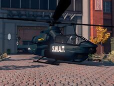 Tornado - Police variant - front right parked in Saints Row The Third