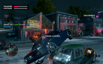 Escort in Saints Row The Third - XXX theatre location