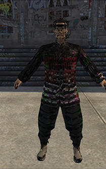Hitman - Translator - Server alternate - character model in Saints Row